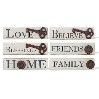 Assorted Novelty Wall Signs from K&K Interiors