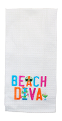Beach Diva, Kitchen Towel