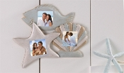 Ocean Icon Design Photo Frame, Set of Three