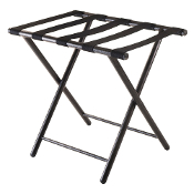 Tavin Luggage Rack, Folding Straight Leg