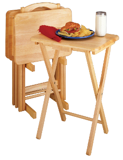 5pc TV Table Set, Rectangular