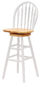 "Windsor Swivel Stool, 30"", Single, RTA"