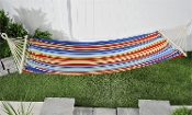 Multicolor Polyester Fabric Outdoor Hammock
