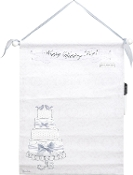 Transpac canvas Wedding Cake Autographable Banner