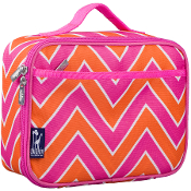 Zigzag Pink Lunch Box
