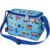 Olive Kids Trains, Planes & Trucks Lunch Cooler