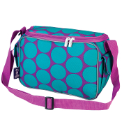 Big Dot Aqua Lunch Cooler