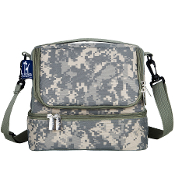 Digital Camo Double Decker Lunch Bag