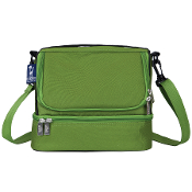 Parrot Green Double Decker Lunch Bag