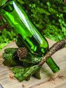 Pinecone Wine Bottle Holder