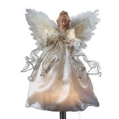 Kurt Adler Illuminated Angel Treetopper
