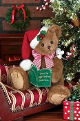 Chris Mousetales Christmas Stuffed Bear