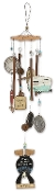 Trailer Park Collection Bear Wind Chime