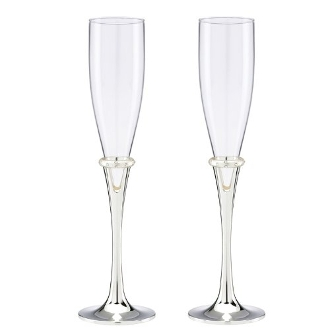 Devotion Flute Pair Champagne Glasses