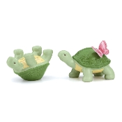 Butterfly Meadow Figural Turtle Salt and Pepper Set