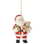 Good Tidings Santa Ornament