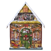 MusicBox Kingdom Advent Calendar Decorative Box