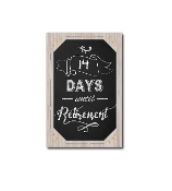 Retirement Countdown Sign