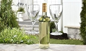 Frog Wine Glass Holder for Wine Bottle