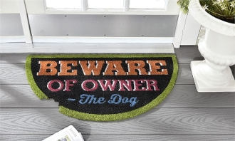 Beware of Owner, Coir Door Mat