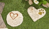 Memorial Stones For Beloved Pets, Two Different Designs