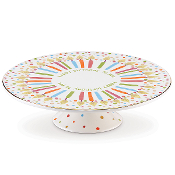 Candles & Confetti™ Musical Birthday Cake Plate by Lenox