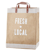 Fresh & Local Farmer's Market Tote
