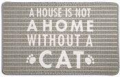 A House Is Not A Home Without A Cat, Door Mat