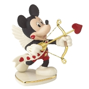 Lenox Classics Disney's Mickey's Valentine for You Figurine