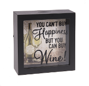 You Can't Buy Happiness, But You Can Buy Wine, Shadow Box Bank