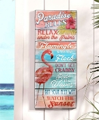 Flamingo Design Wall Sign