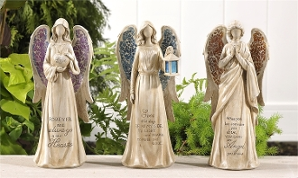 Bereavement Angel Figurine, 3 Different Designs