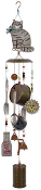 Kitty Cat Kitchen Utensils Wind Chime