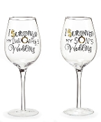 Wedding Survivor Wine Glasses, Sold Separately