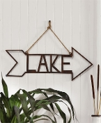 Iron Arrow Lake Wall Sign