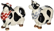 Barn Yard Cow Pepper and Salt Shaker