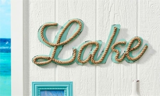 Iron Lake Design Wall Sign