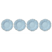 Lenox French Perle Melamine Blue Dinner Plates, (Set of 4)