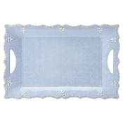 Lenox French Perle Melamine Blue Large Rectangular Platter