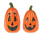 Pumpkin Salt & Pepper Shakers (1 pair)