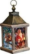 The Enchanted Santa Lantern Fiber Optic