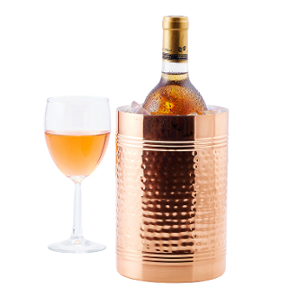 """Fez"" Décor Copper Hammered Copper Wine / Champagne Chiller"