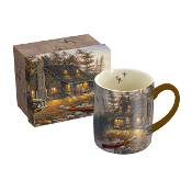 Lake Retreat Mug by Sam Timm, 14 oz.,