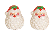 Santa Salt and Pepper Shaker Set