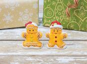 Gingerbread Man Salt and Pepper Shaker Set