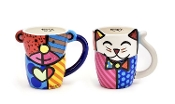 Romero Britto Animal Mug Set, 2 Designs