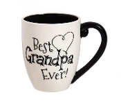 Best Grandpa Ever Ceramic Coffee Mug