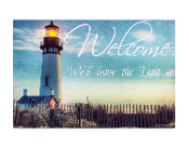 Lighted Indoor Outdoor Lighthouse Canvas