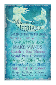 Wisdom From A Mermaid Canvas