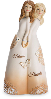 "Forever Friends 5.5"" Double Figurine"